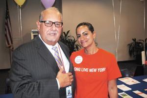 Jamaica Hospital touts organ donor sign-ups 1