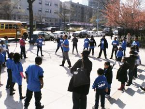 Hundreds rally for after-school funding 2