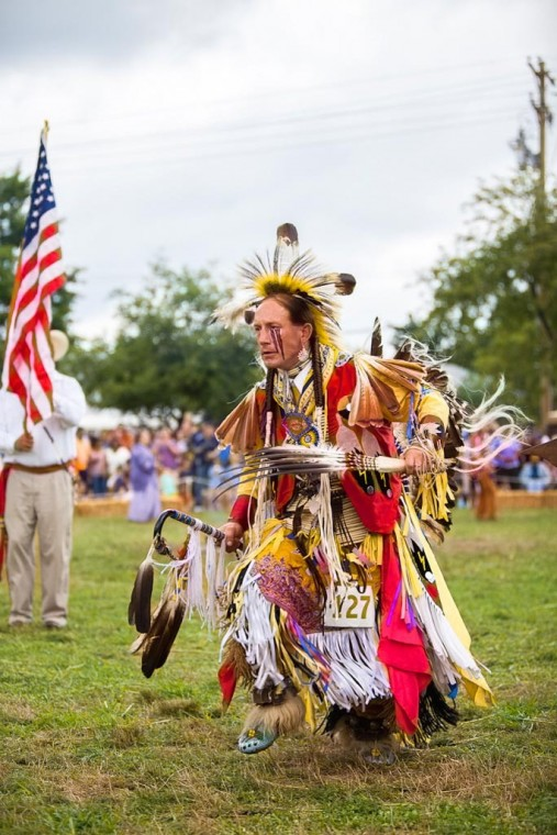 Indian Pow-Wow wows visitors