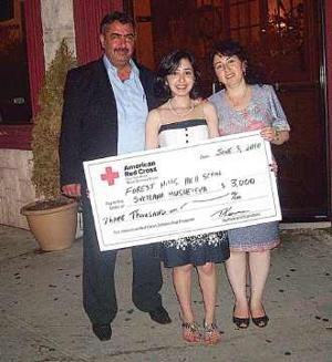 Local girl wins scholarship for helping those who need it most