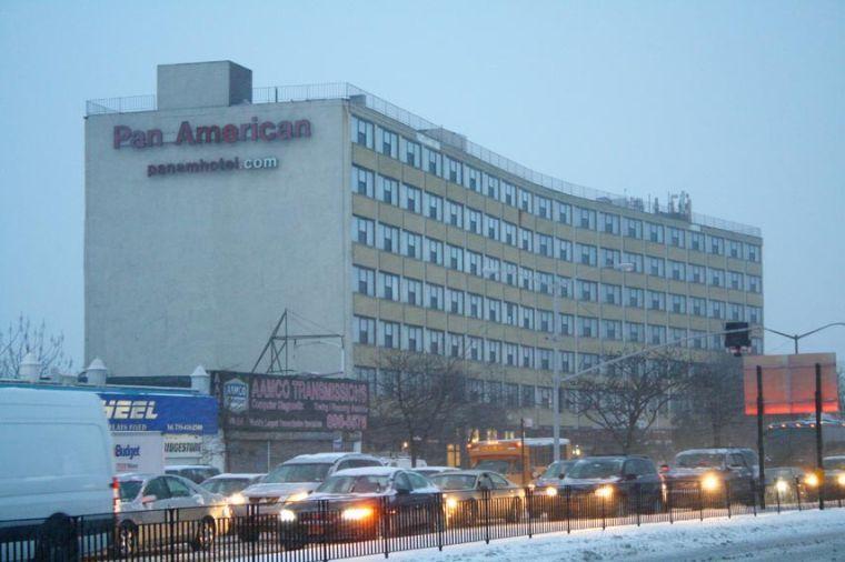 City putting homeless into Elmhurst's Pan Am Hotel