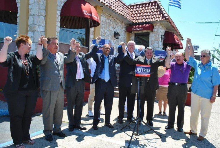In Howard Beach, Queens Dems endorse Hakeem Jeffries for Congress