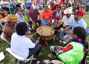 Mid-Summer Pow-Wow held at Queens Farm Museum
