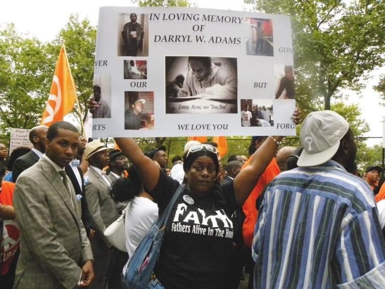 Marchers decry violence, seek change 2