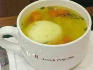 Signature Dish: Chicken Soup With Matzo Balls
