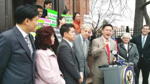 Queens pols rally for immigration reform 1