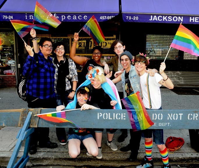Jackson Heights feels a sense of pride 1