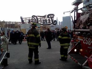 Crane collapsed in Long Island City, seven injured