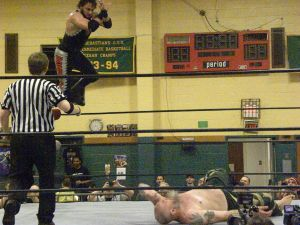 Wrestling is a knockout in Woodside 1