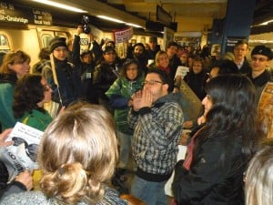 Occupy Wall Street protesters meet in Queens