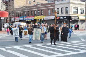 Protesters march against abortion 1