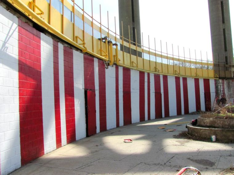 State Pavilion gets a new coat of paint 1