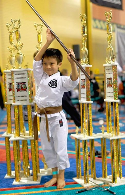 Meet the Karate Kid from Howard Beach 1