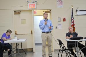 Flood, plane issues discussed at civic 1