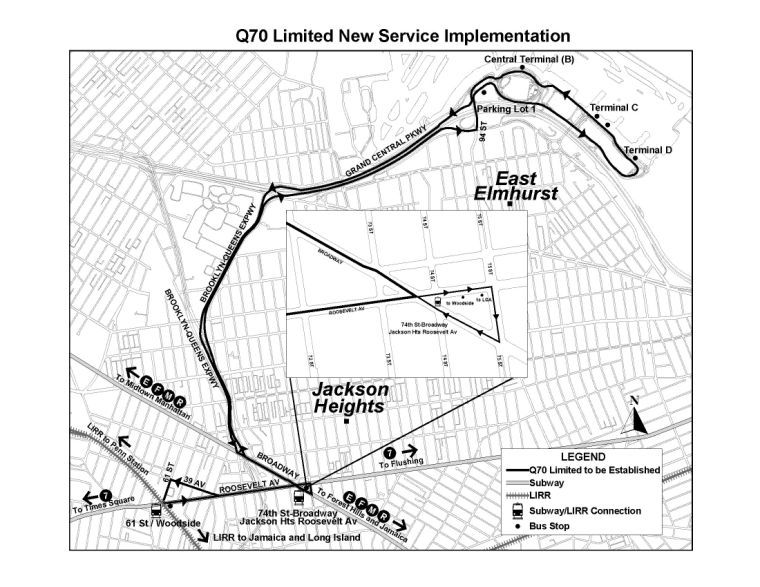New bus routes for LaGuardia, Long Island City and Woodside