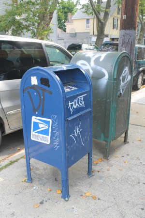 Woodhaven declares war on mailbox graffiti 1