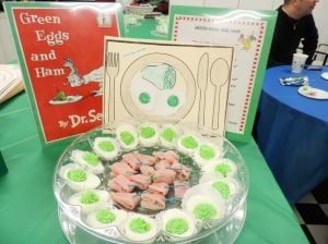 Green eggs and ham at NYFAC 1