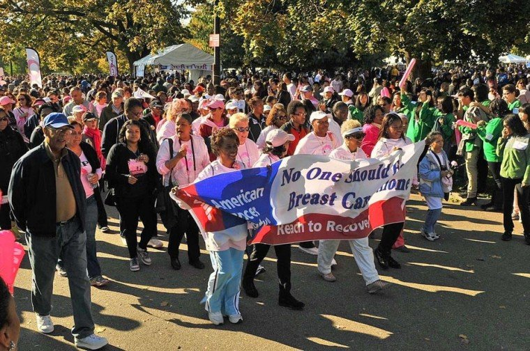 Making Strides Against Breast Cancer sets record in boroough