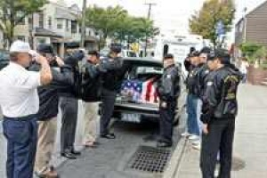 Queens veterans provide proper burial for soldier 