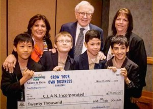 PS 175 kids win Buffett challenge 1