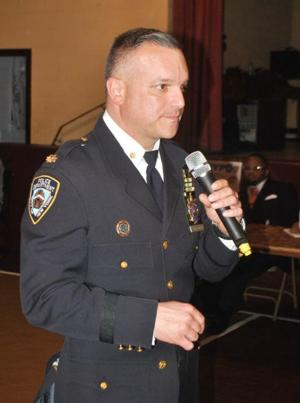 Cappelmann takes over in NYPD's 103rd 1