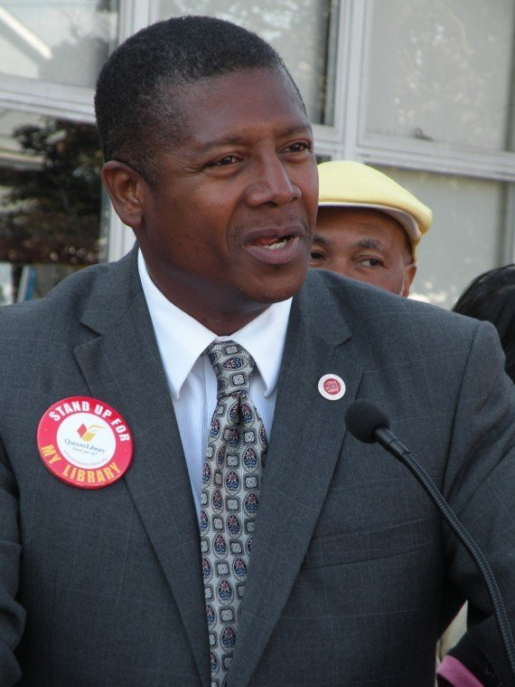City Councilman James Sanders Jr.