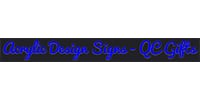 Acrylic Design Signs and QC Gifts