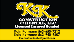 KK Construction & Rental, LLC