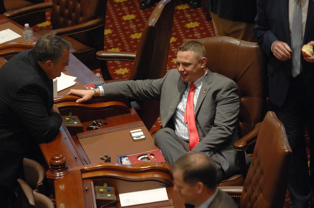 Illinois Legislature opening day - Sen. Neil Anderson