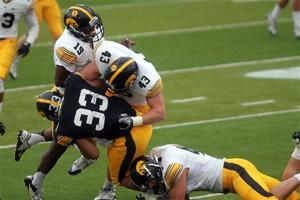 Photos: Hawkeyes spring scrimmage