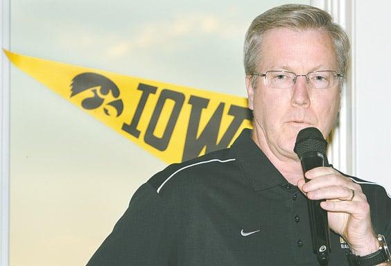 Iowa men's basketball coach Fran McCaffery