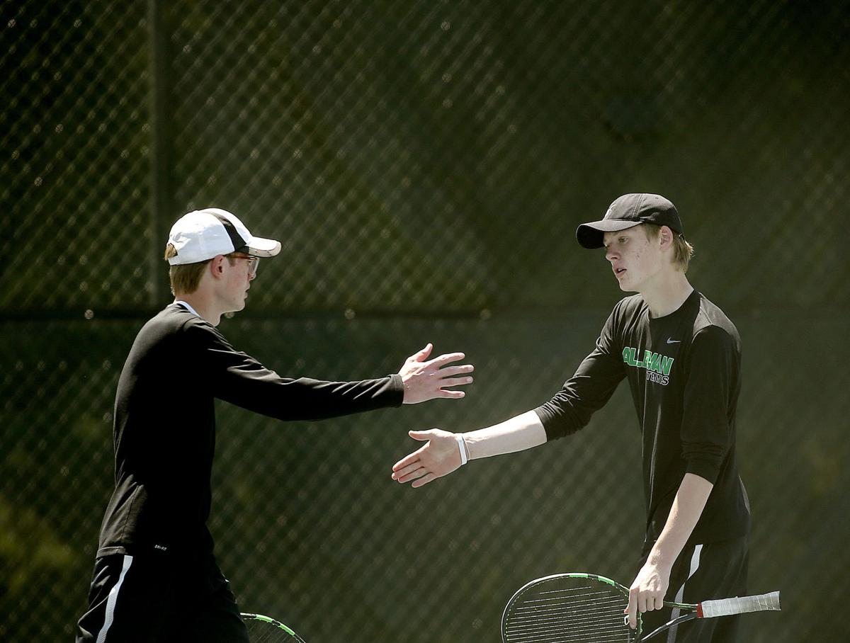 alleman catholic singles Boys tennis sectional at moline (hs) thore abend/newman central catholic: 6-3,6-1: jack nitz/ sterling: (alleman) 4 : brice piotrowski.