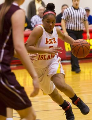 Photos: Moline Vs Rock Island Girls Basketball
