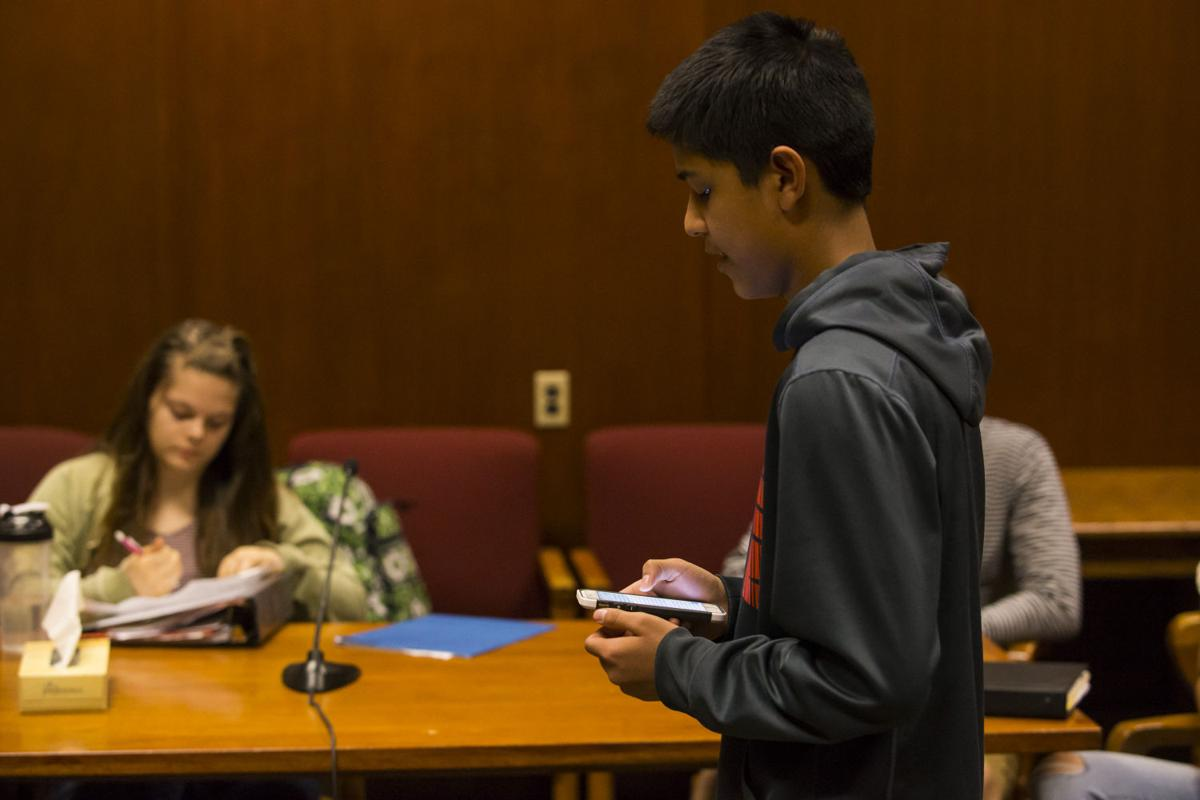 central high school s mock trial teams learns about legal system central high school mock trial team