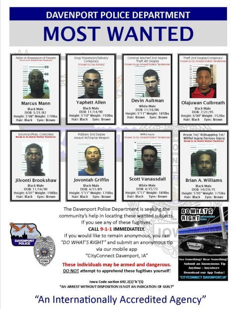 most wanted 1/15