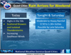 Showers, thunderstorms possible this afternoon