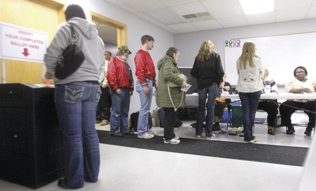 Photos: Q-C voters go to polls | Local News | qctimes.com