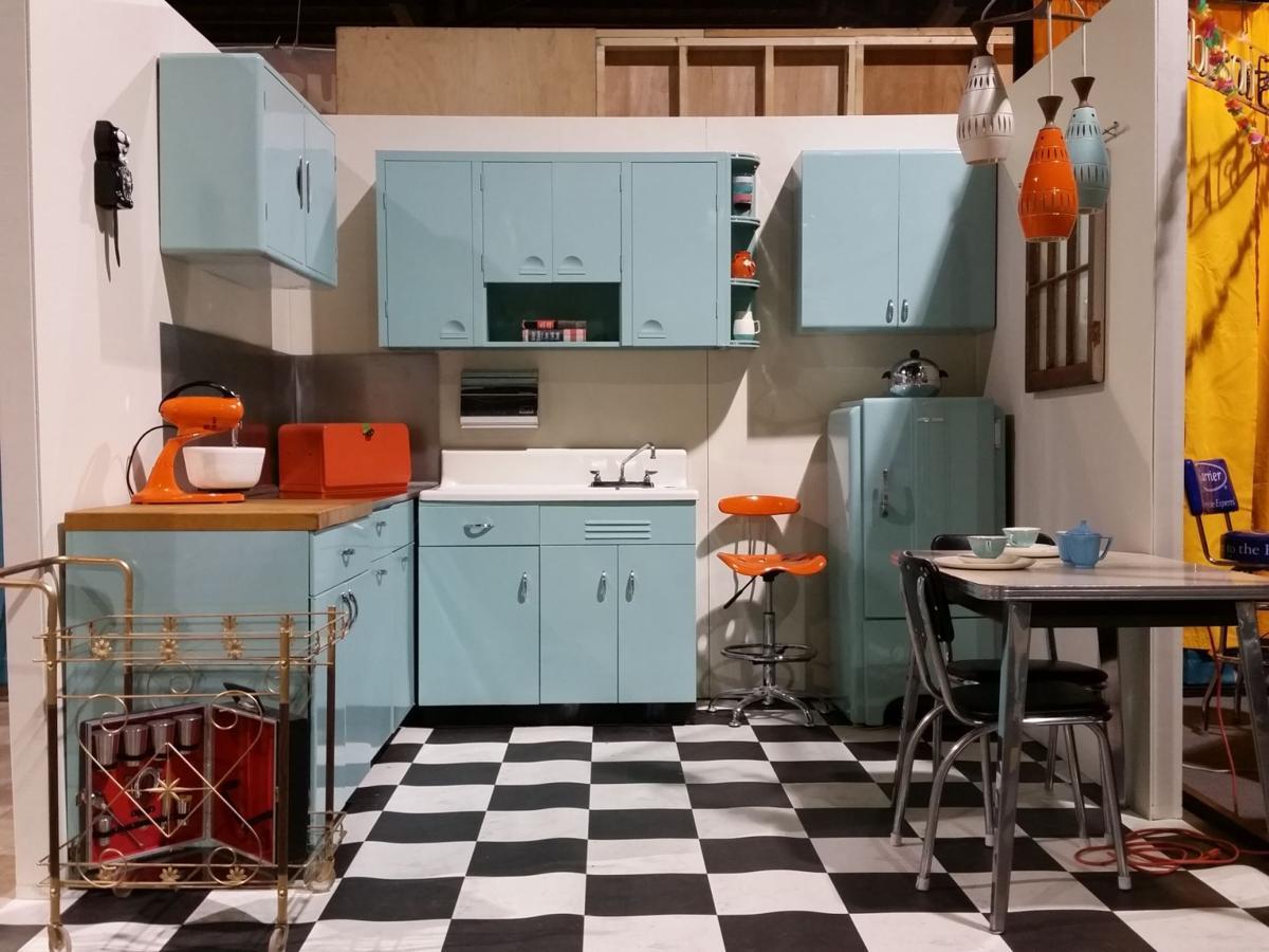 The story behind restore 39 s vintage kitchen alma gaul for Restore kitchen