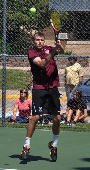 Photos: Moline sectional boys tennis