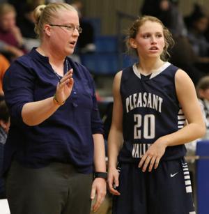 Photos: Pleasant Valley at Davenport North girls basketball