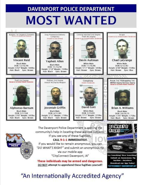 most wanted 10/29