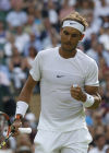 Keys moves on to Round 3 at Wimbledon