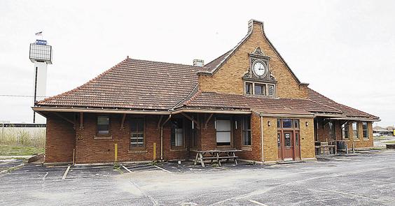 Old Moline Train Depot Exterior