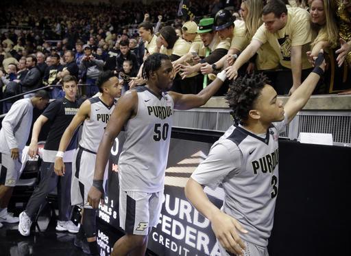 No. 20 Purdue ends No. 13 Wisconsin's 9-game winning streak
