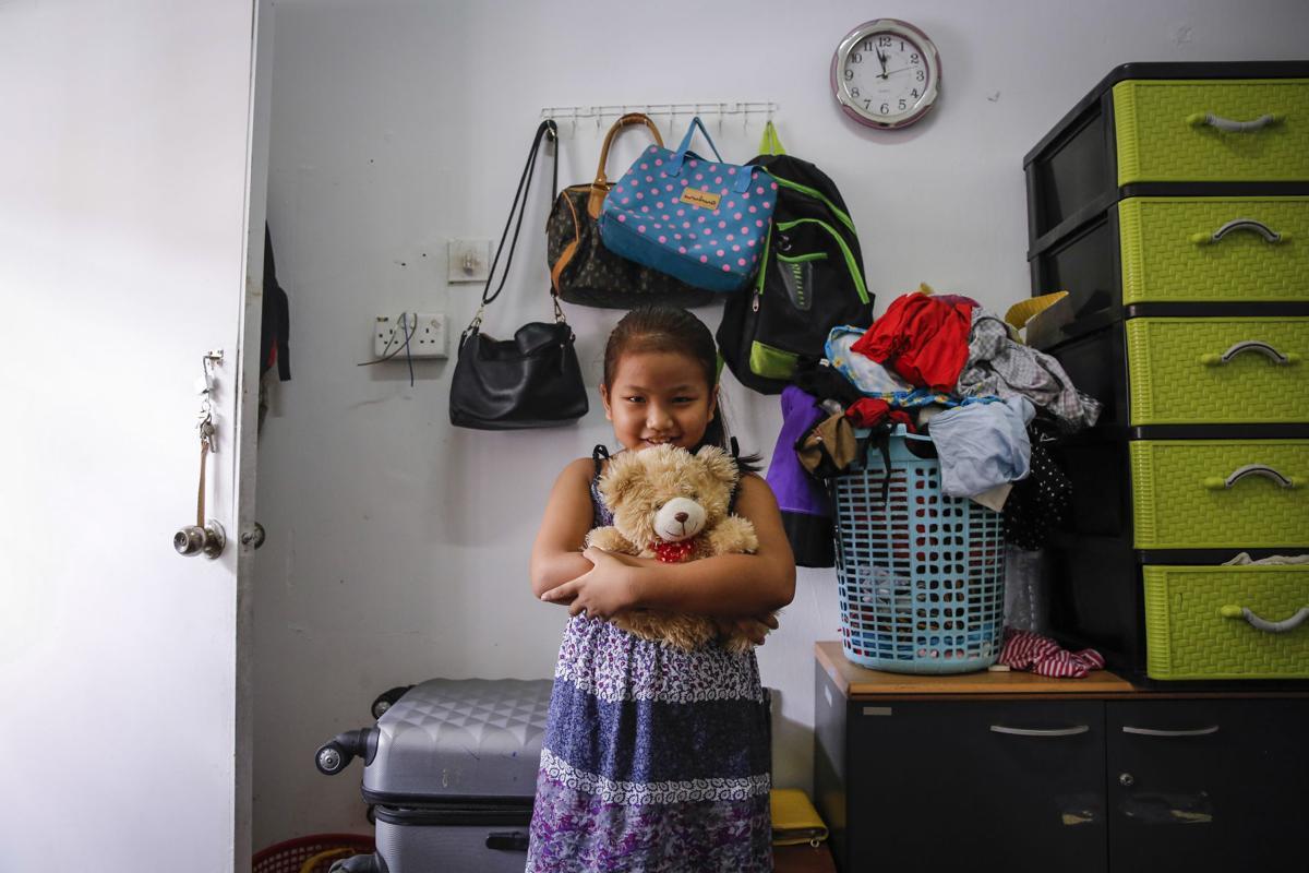 Sarah: Her favorite teddy bear