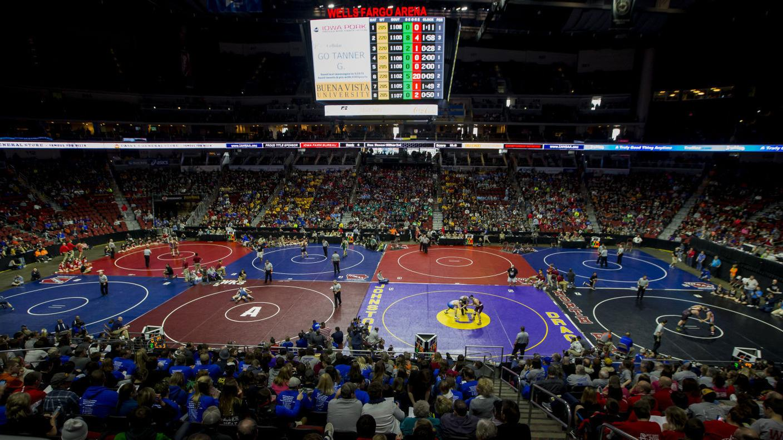 Photos: Class 1A Iowa State High School wrestling | High ...