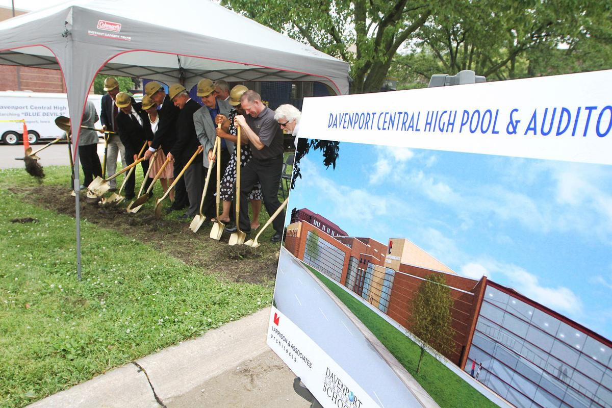 Central Takes The Plunge For New Pool Auditorium Local Education