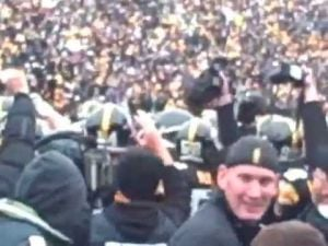 Iowa's final stop against Michigan, 2011
