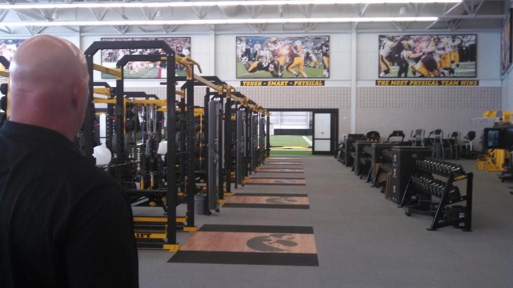 Iowa's new indoor facility