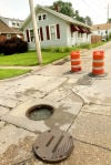 Residents complain of sewer backups